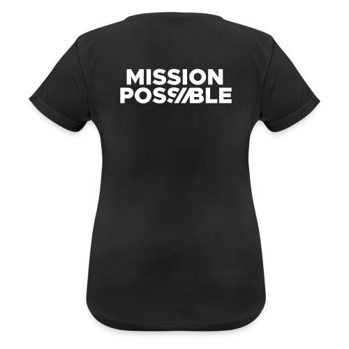 FYW - MISSION POSSIBLE Edition - Back - Women's Breathable T-Shirt