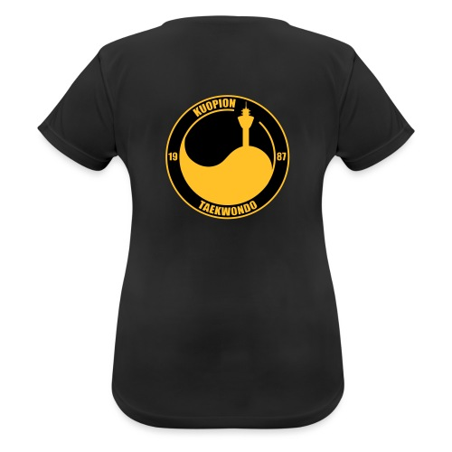 kuotkd vector - naisten tekninen t-paita