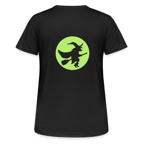 hexe_1farbig - Frauen T-Shirt atmungsaktiv