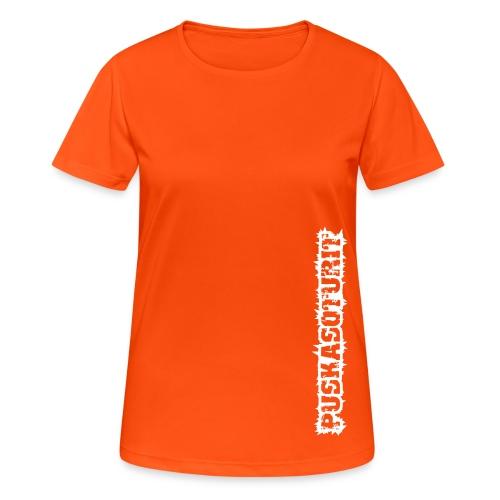 PS Tekstilogo (mono) - naisten tekninen t-paita