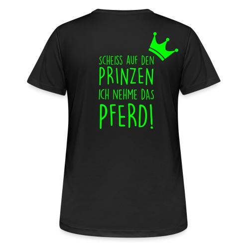 Vorschau: Prinz Pferd - Frauen T-Shirt atmungsaktiv
