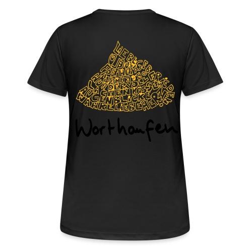 Worthaufen - Frauen T-Shirt atmungsaktiv