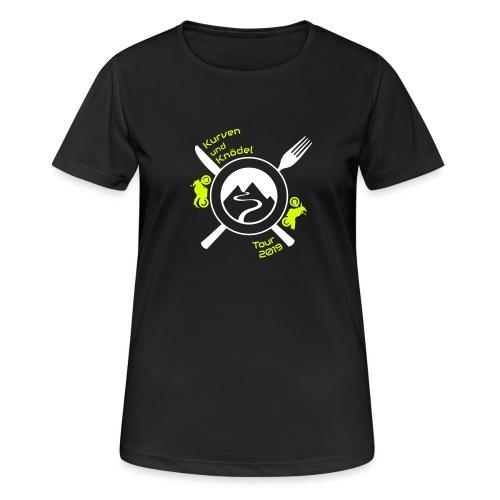 KuKT 19 shirt font color - Frauen T-Shirt atmungsaktiv