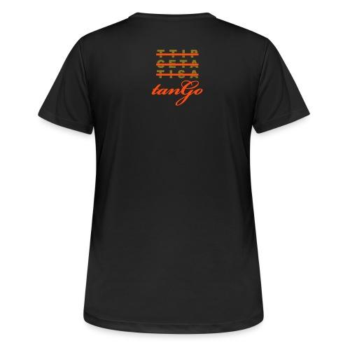 tanGo - Frauen T-Shirt atmungsaktiv