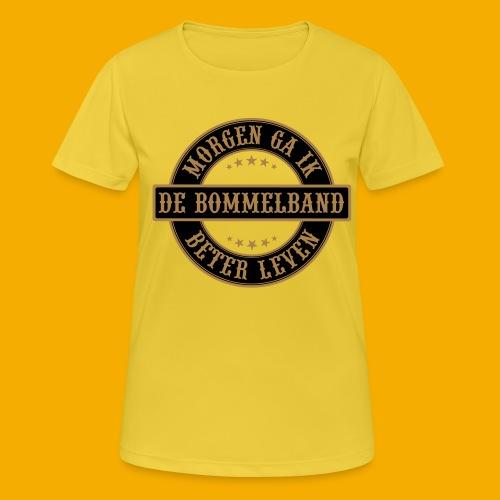 bb logo rond shirt - Vrouwen T-shirt ademend actief