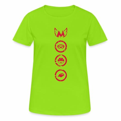 Mosso_run_swim_cycle - Maglietta da donna traspirante