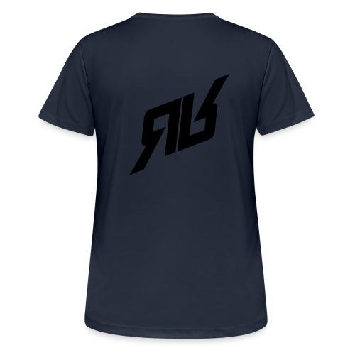 rrlogo - Frauen T-Shirt atmungsaktiv
