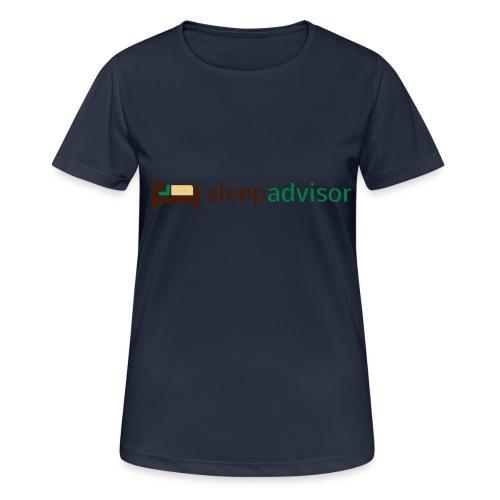 SleepAdvisor - Maglietta da donna traspirante