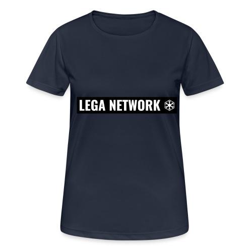 Tazza Logo Lungo Nero - Maglietta da donna traspirante