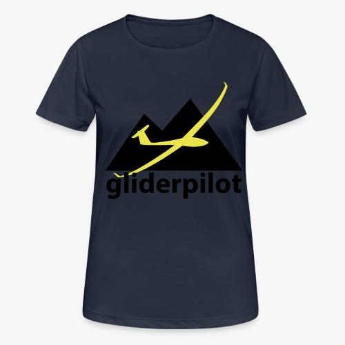 soaring-tv: gliderpilot - Frauen T-Shirt atmungsaktiv