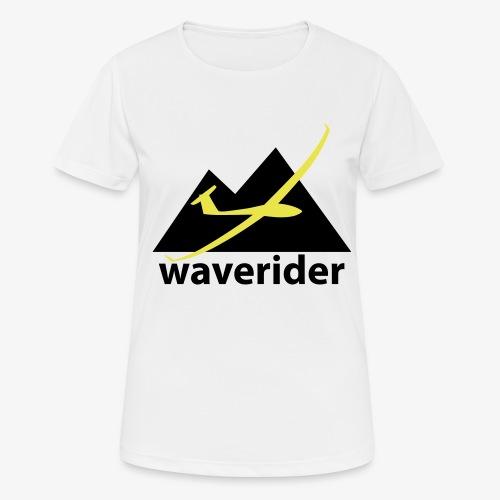 soaring-tv: waverider - Frauen T-Shirt atmungsaktiv