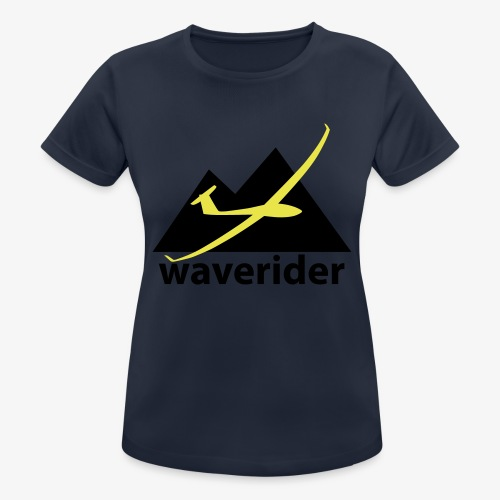 soaring-tv: waverider - Frauen T-Shirt atmungsaktiv