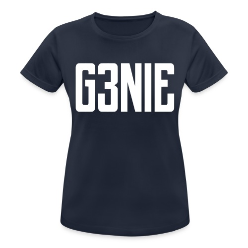 G3NIE snapback - Vrouwen T-shirt ademend actief