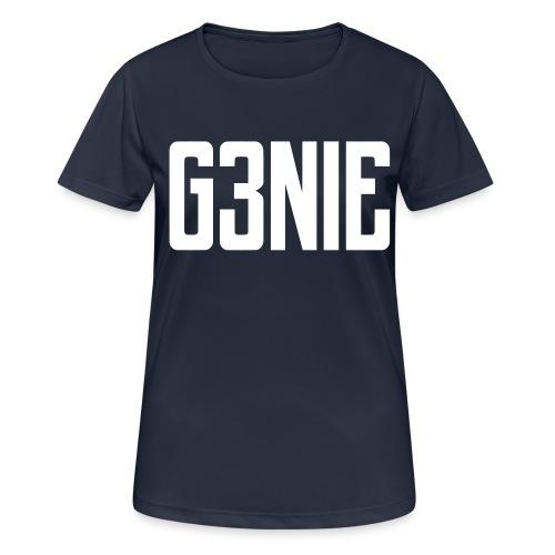 G3NIE case - Vrouwen T-shirt ademend actief
