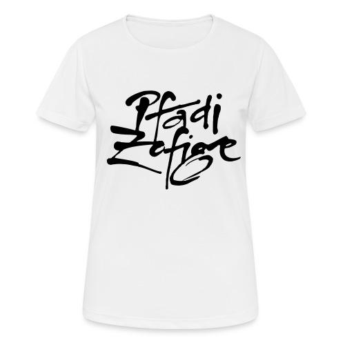 pfadi zofige - Frauen T-Shirt atmungsaktiv