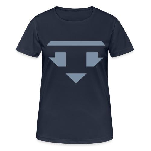 Twanneman logo Reverse - Vrouwen T-shirt ademend actief