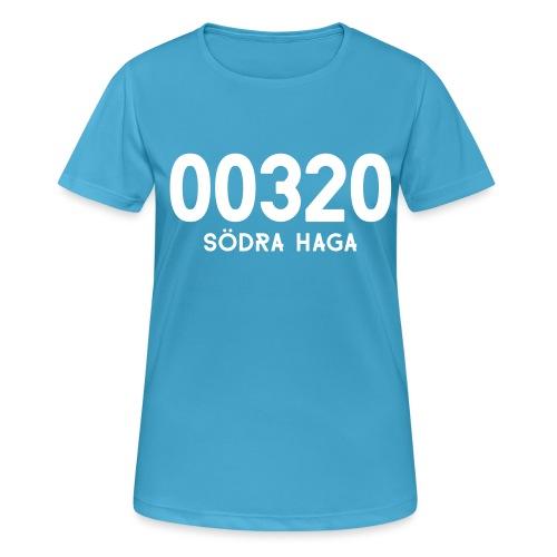 00320 SODRAHAGA - naisten tekninen t-paita