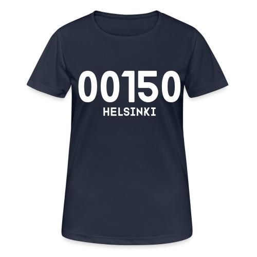 00150 HELSINKI - naisten tekninen t-paita