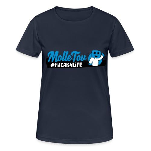 Nyt Logo4 - Dame T-shirt svedtransporterende