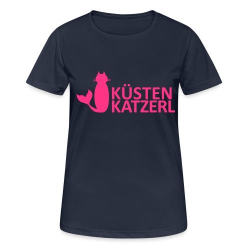 Küstenkatzerl - Frauen T-Shirt atmungsaktiv