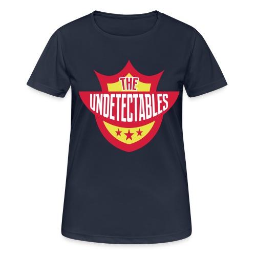 Undetectables voorkant - Vrouwen T-shirt ademend actief