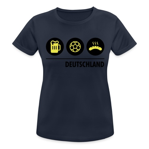 Circles - Germany - Women's Breathable T-Shirt