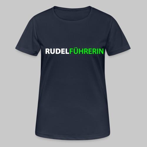 Rudelführerin - Frauen T-Shirt atmungsaktiv