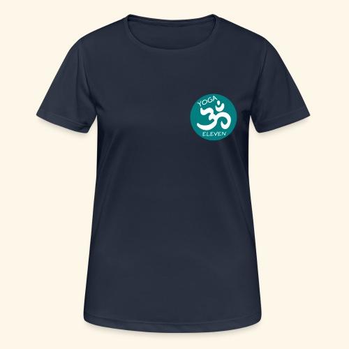Yoga 11 Logo 2C - Frauen T-Shirt atmungsaktiv