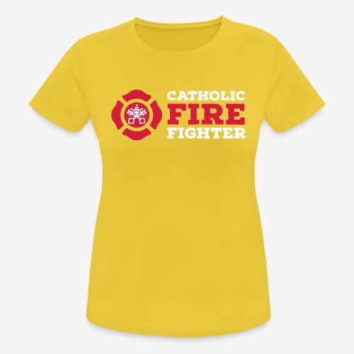 CATHOLIC FIRE FIGHTER - Women's Breathable T-Shirt