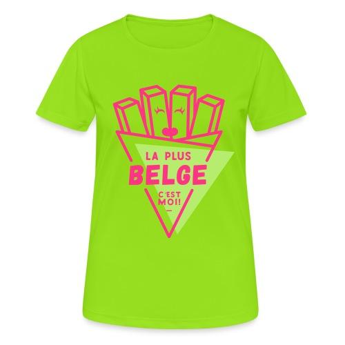 La+Belge - T-shirt respirant Femme