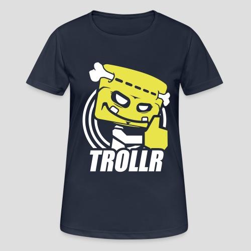 TROLLR Like - T-shirt respirant Femme