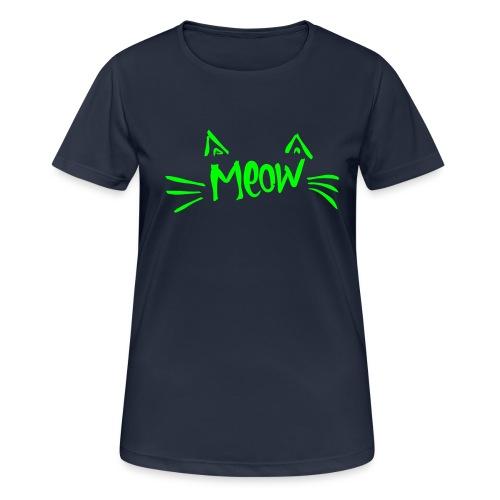 Vorschau: meow2 - Frauen T-Shirt atmungsaktiv