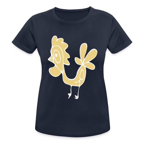 Hahn - Frauen T-Shirt atmungsaktiv
