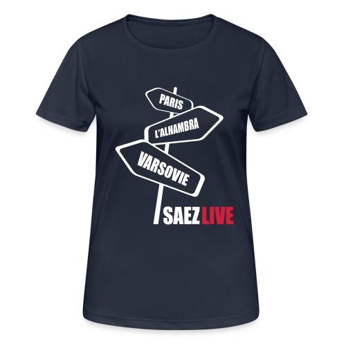 Varsovie (version light, par parek) - T-shirt respirant Femme