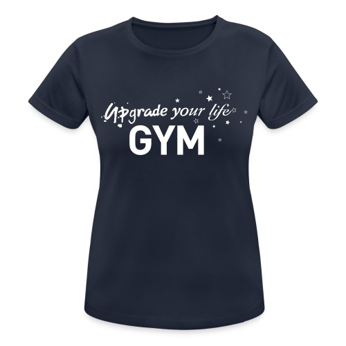 GYM_T_1A - Women's Breathable T-Shirt