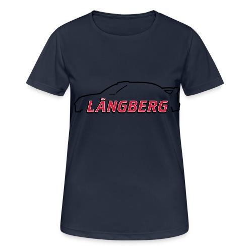logotype Laengberg - Andningsaktiv T-shirt dam