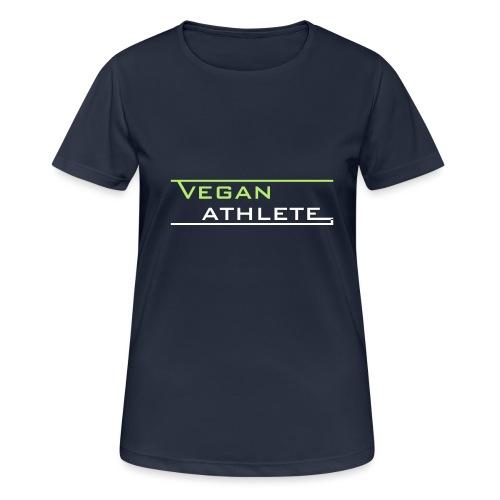 VEGAN ATHLETE - Frauen T-Shirt atmungsaktiv