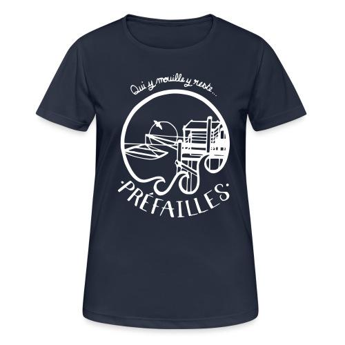 Les pêcheries de Prefailles - T-shirt respirant Femme