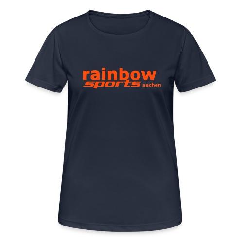 Logo_RSAC_nurSchrift - Frauen T-Shirt atmungsaktiv
