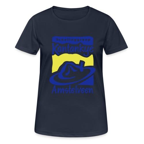 logo simpel 2 - vrouwen T-shirt ademend