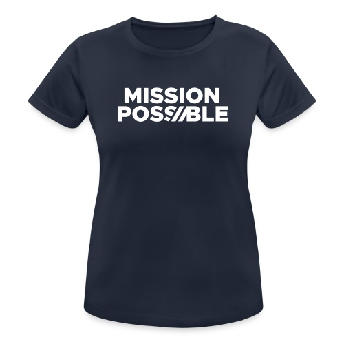 FYW MISSION POSSIBLE Edition - Front - Women's Breathable T-Shirt