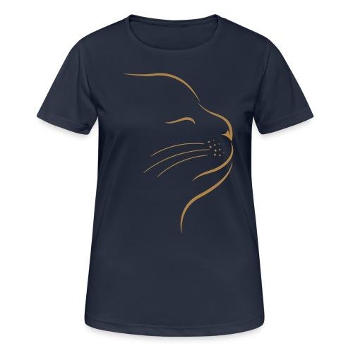 Vorschau: Catstyle - Frauen T-Shirt atmungsaktiv