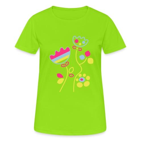 tulipani - Maglietta da donna traspirante