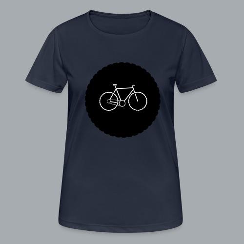 Bike Circle Vector - Frauen T-Shirt atmungsaktiv