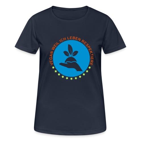 VEGAN - Frauen T-Shirt atmungsaktiv