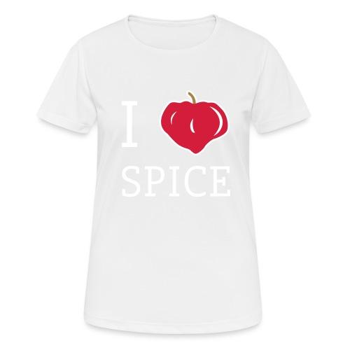 i_love_spice-eps - naisten tekninen t-paita
