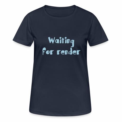 RENDER - Camiseta mujer transpirable