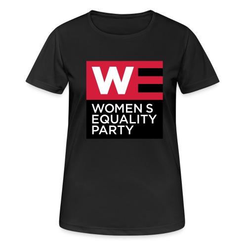 WE_LOGO_RED_CMYK - Women's Breathable T-Shirt