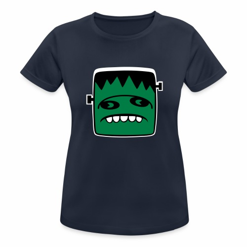 Fonster Weisser Rand ohne Text - Frauen T-Shirt atmungsaktiv