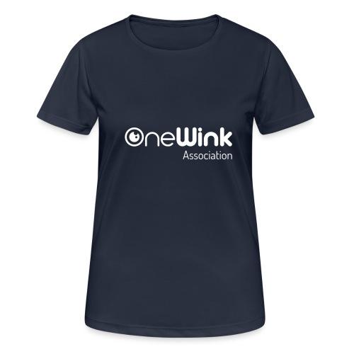 OneWink Association - T-shirt respirant Femme